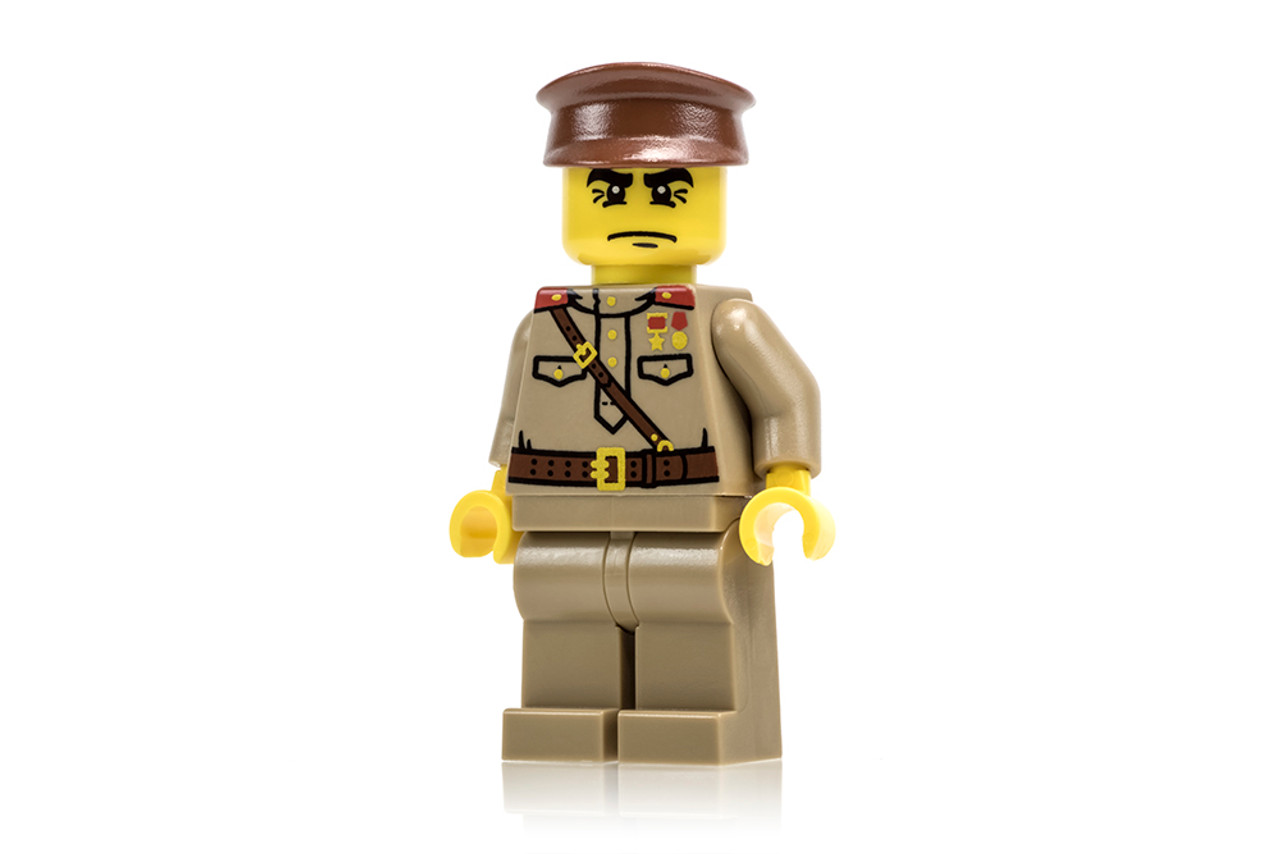 WWII Russian Officer - Dark Tan