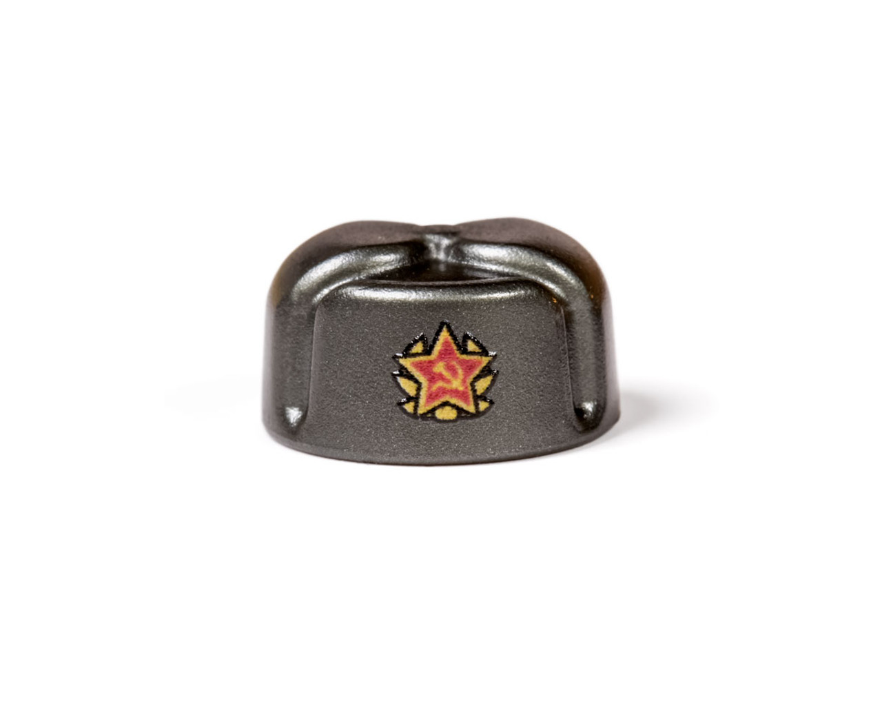 BrickArms Ushanka With Printed Soviet Insignia