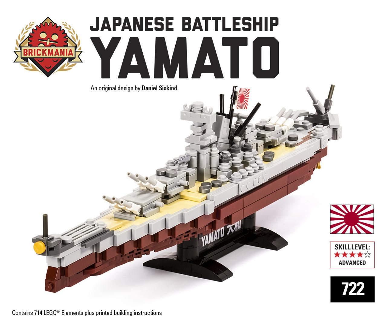 Battleship Yamato Brickmania Toys