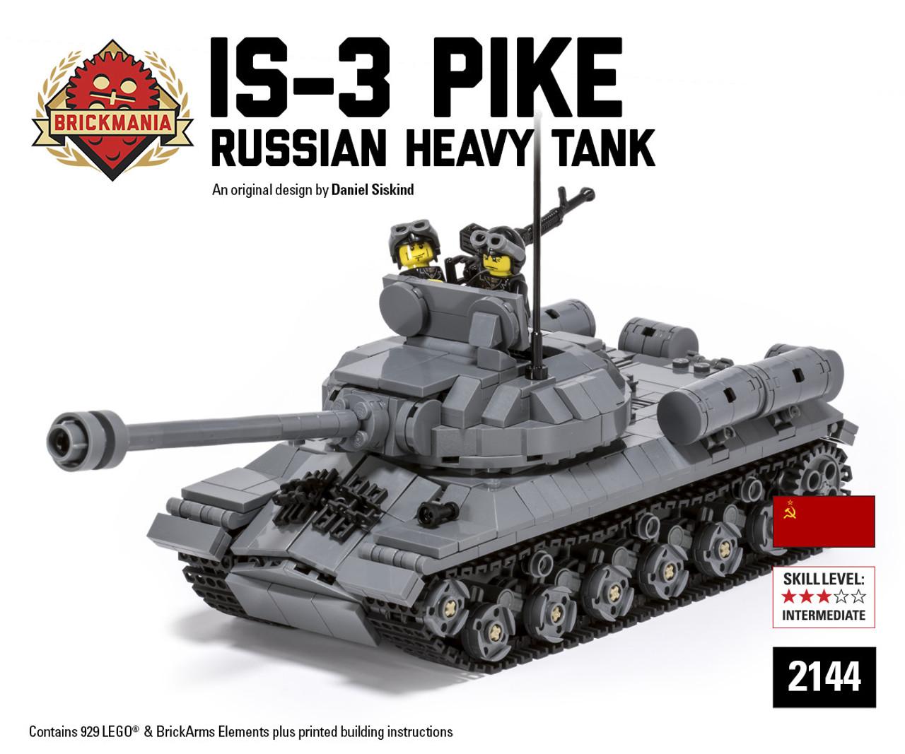 is 3 pike russian heavy tank brickmania toys
