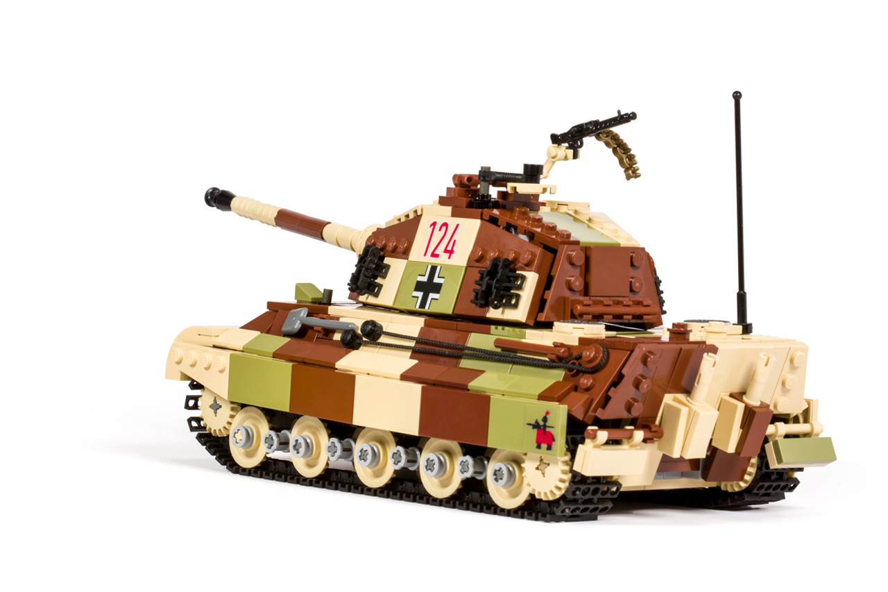 Pzkfz Vi King Tiger Brickmania Toys