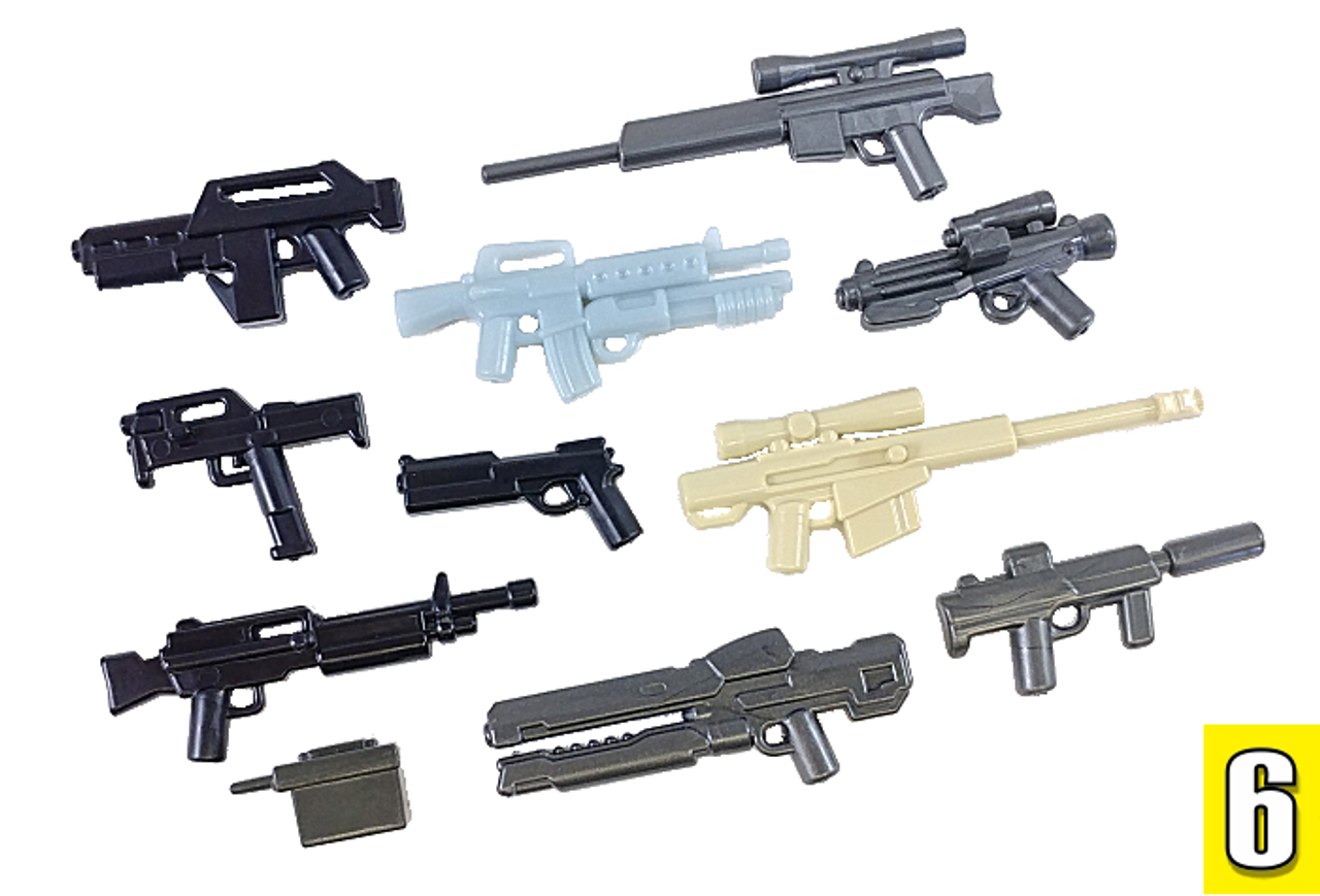 BrickArms Value Pack #6