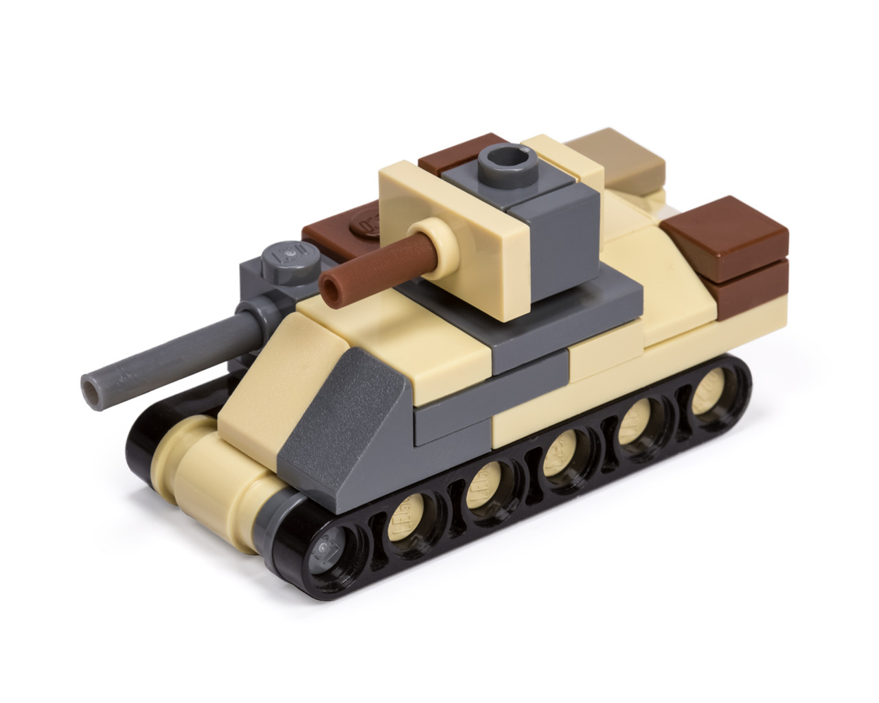 Micro Brick Battle - M3 Grant