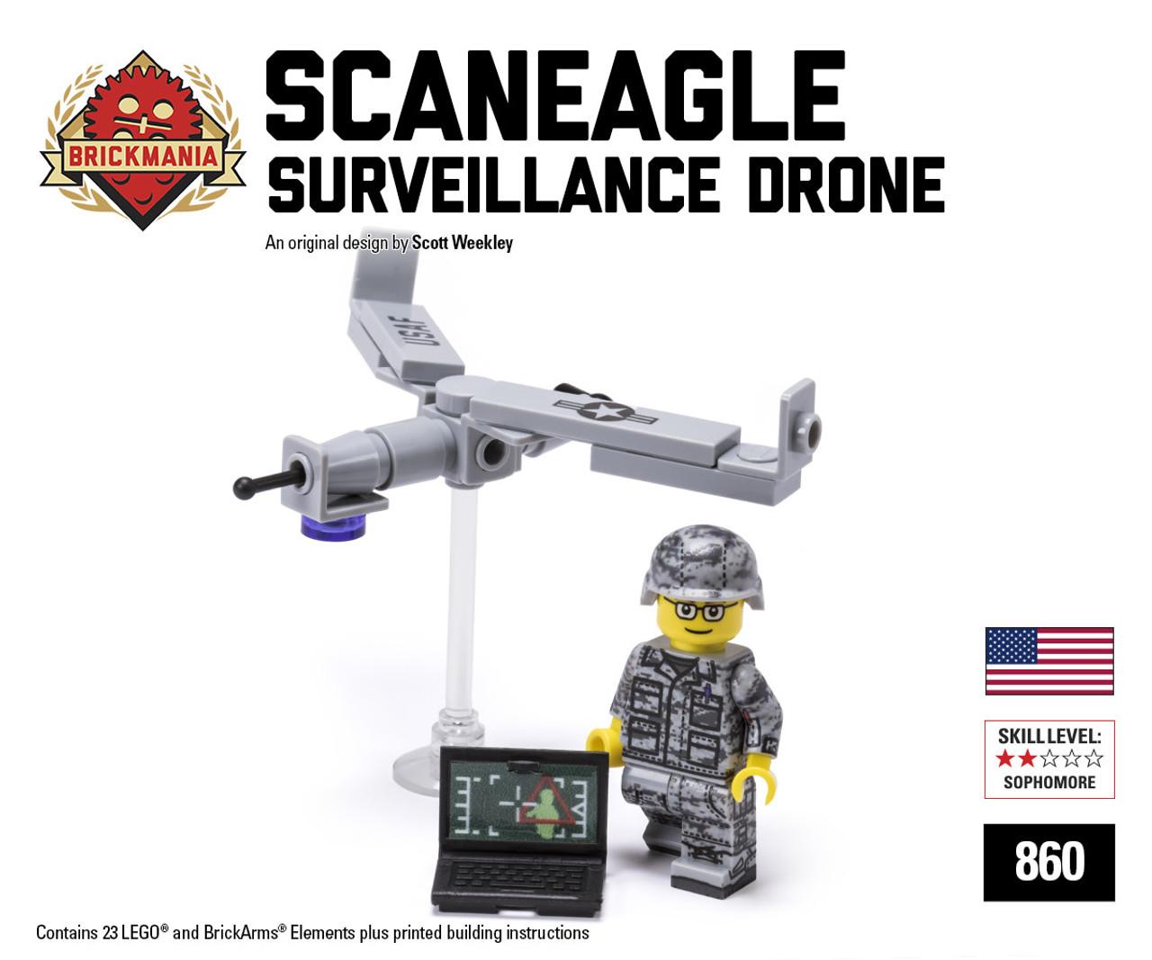 scaneagle surveillance drone brickmania toys