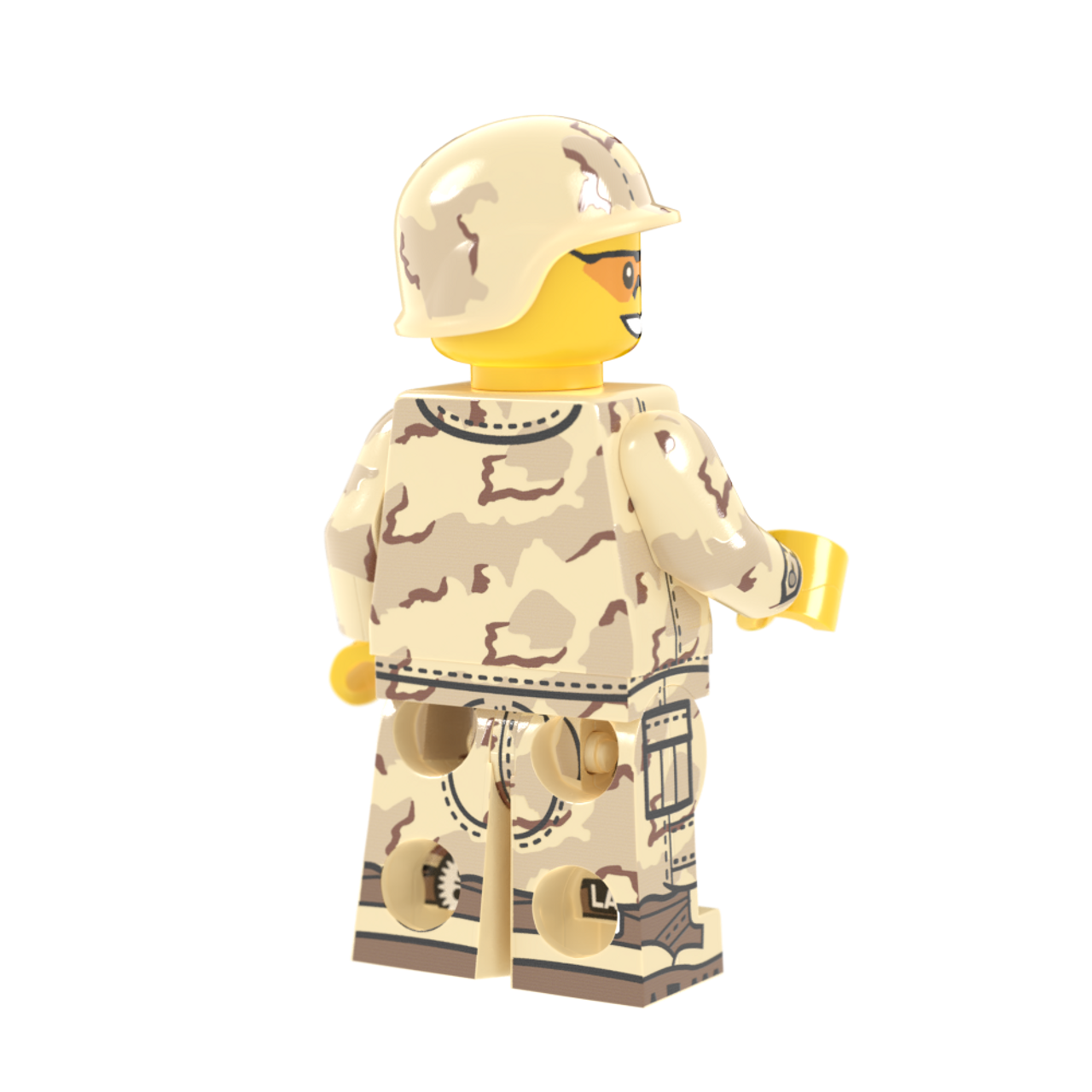 Modern Combat Desert 3-Color