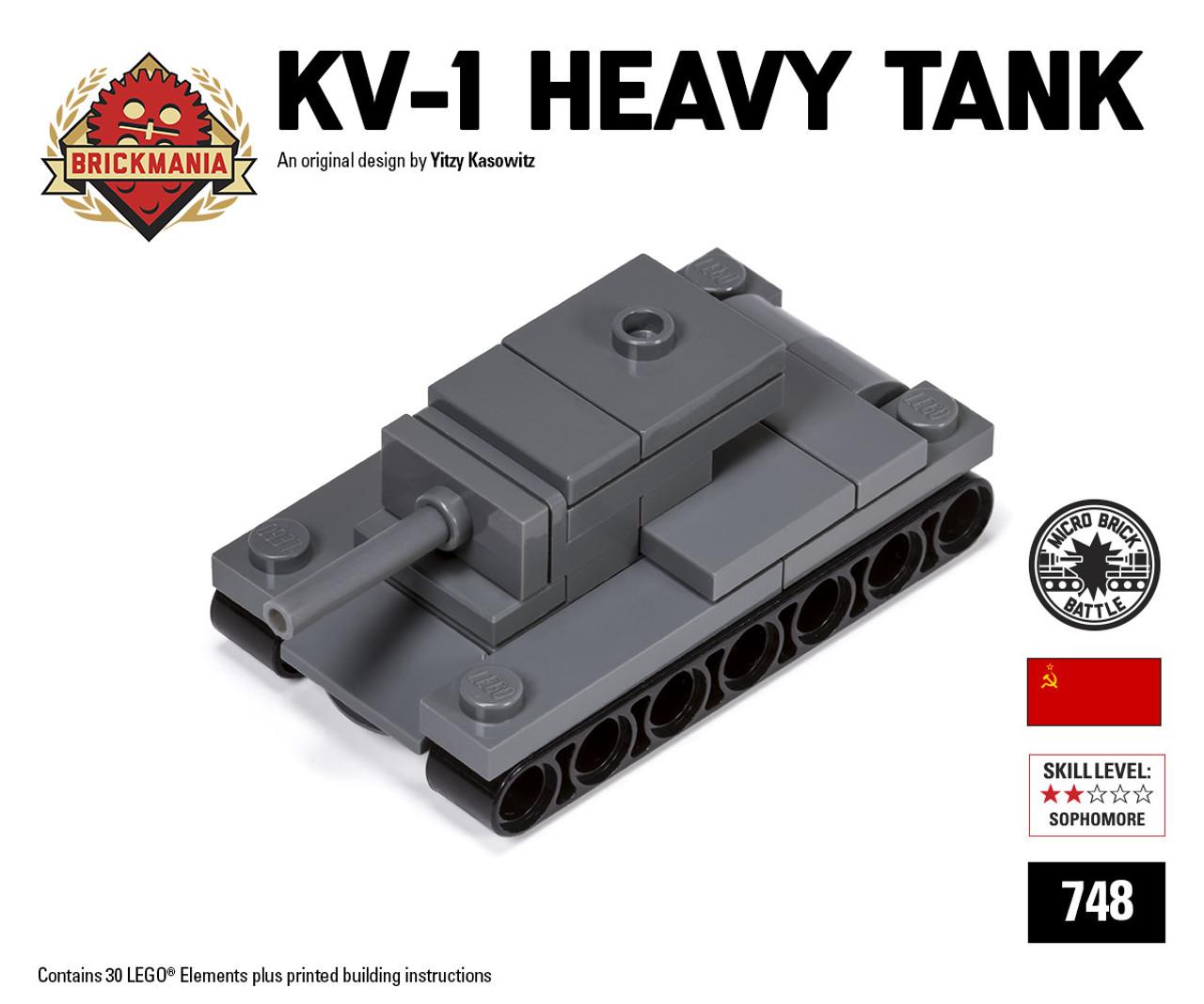 Micro Brick Battle - KV-1