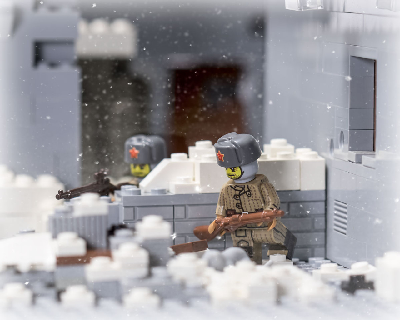 WWII Russian Stalingrad Infantry V2