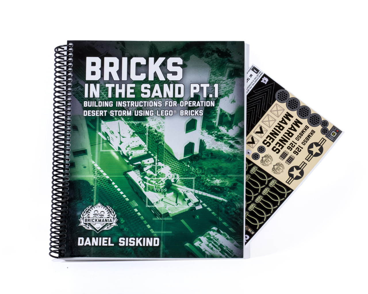 Bricks in the Sand Pt. 1: Building Instructions for Operation Desert Storm Using LEGO® Bricks