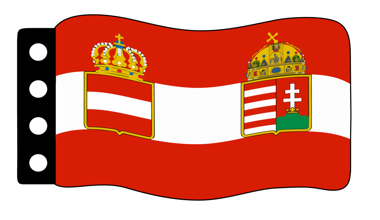Flag - Austria-Hungary (WWI) War Flag