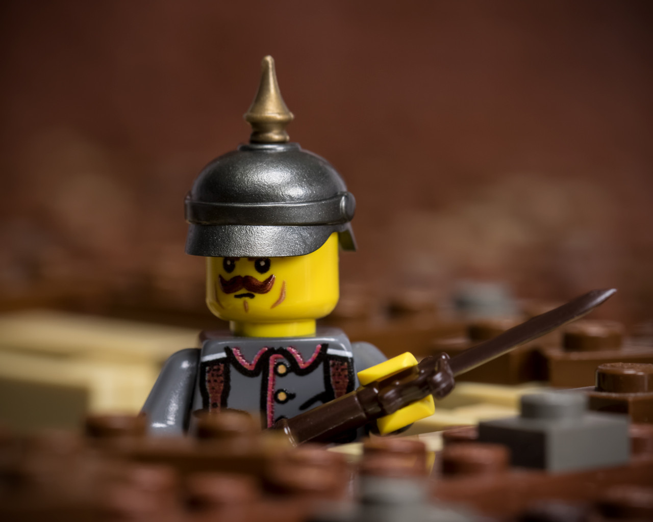 BrickArms Pickelhaube Helmet