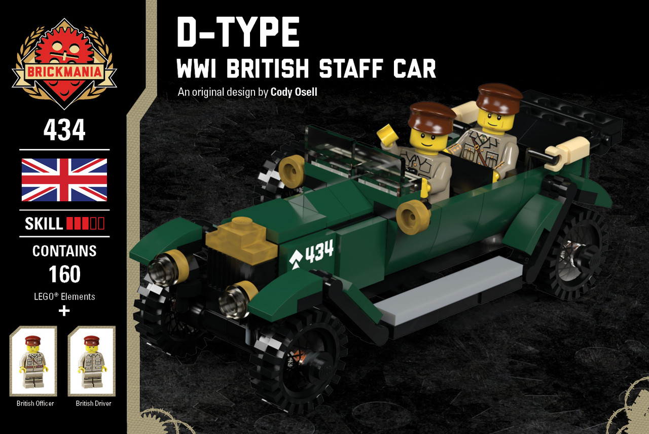 D-Type - WWI British Staff Car