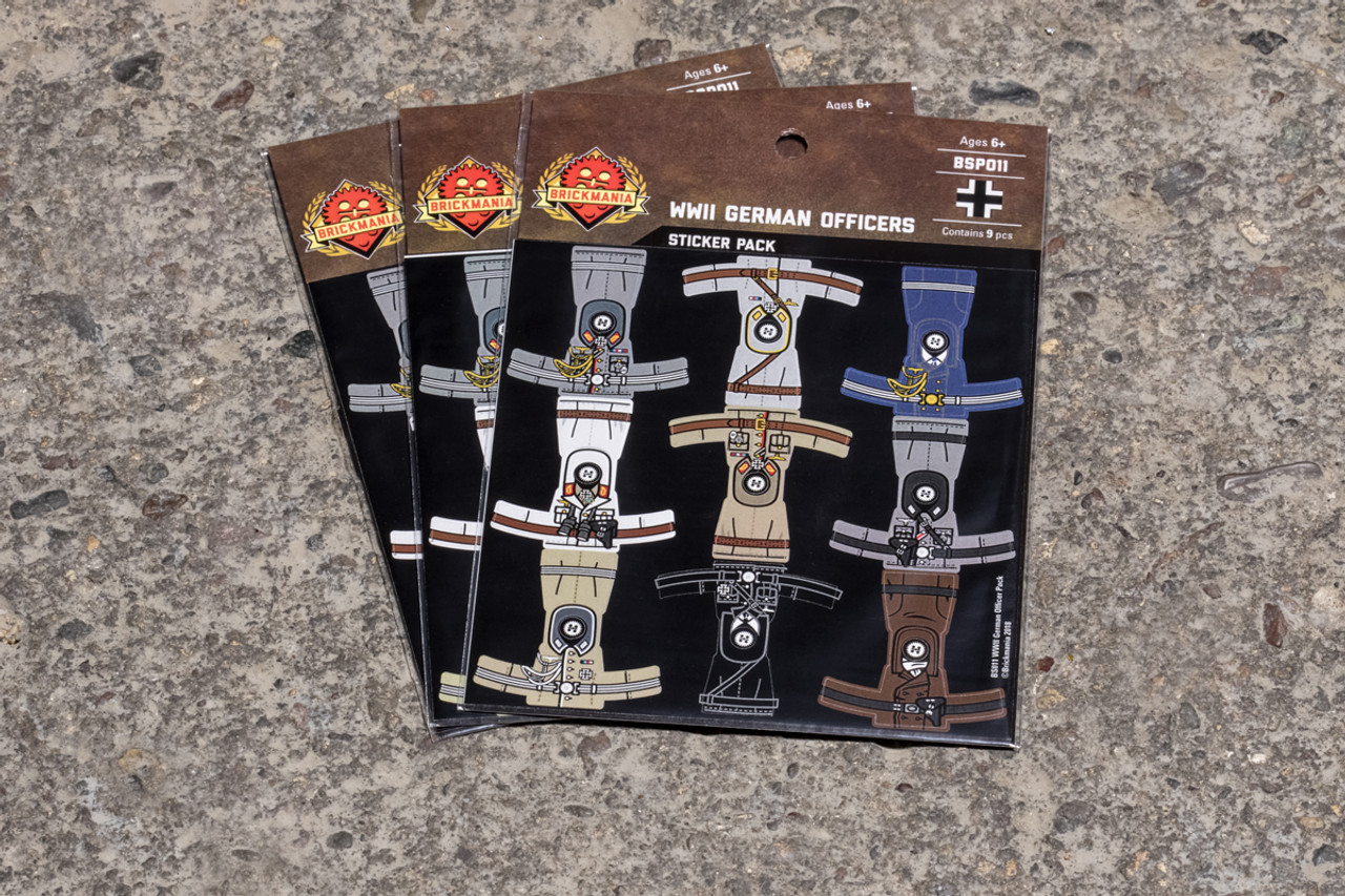 WWII German Officers Pack - Stickers