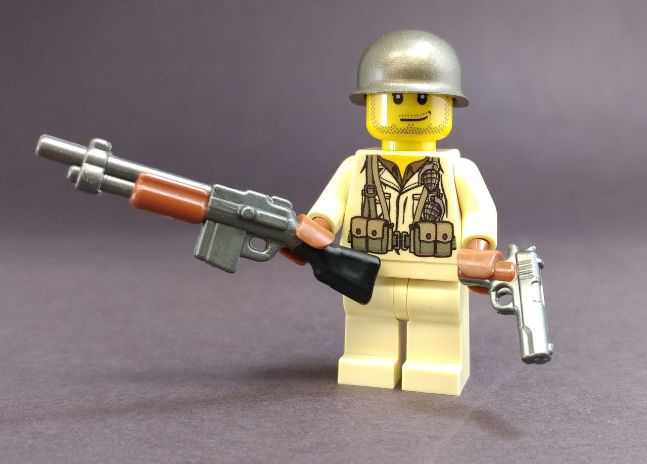 BrickArms RELOADED BAR for Lego Minifigures NEW Exclusive Weapon