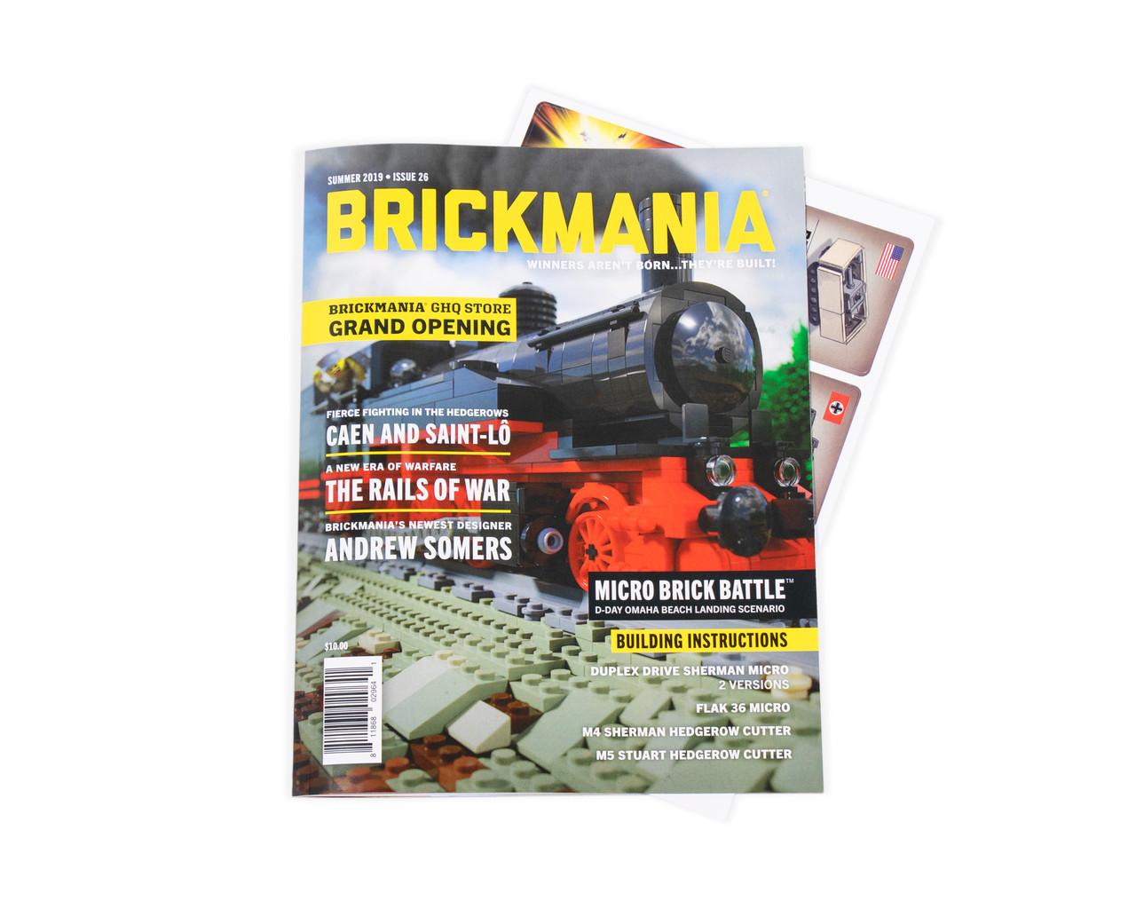Brickmania Magazine 4-Issue Subscription