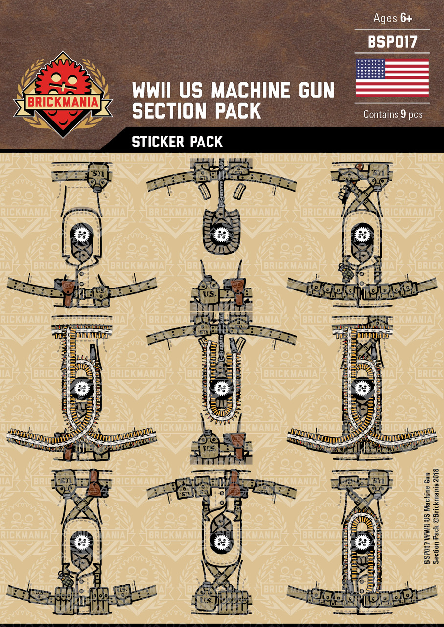 WWII US Machine Gun Section Pack