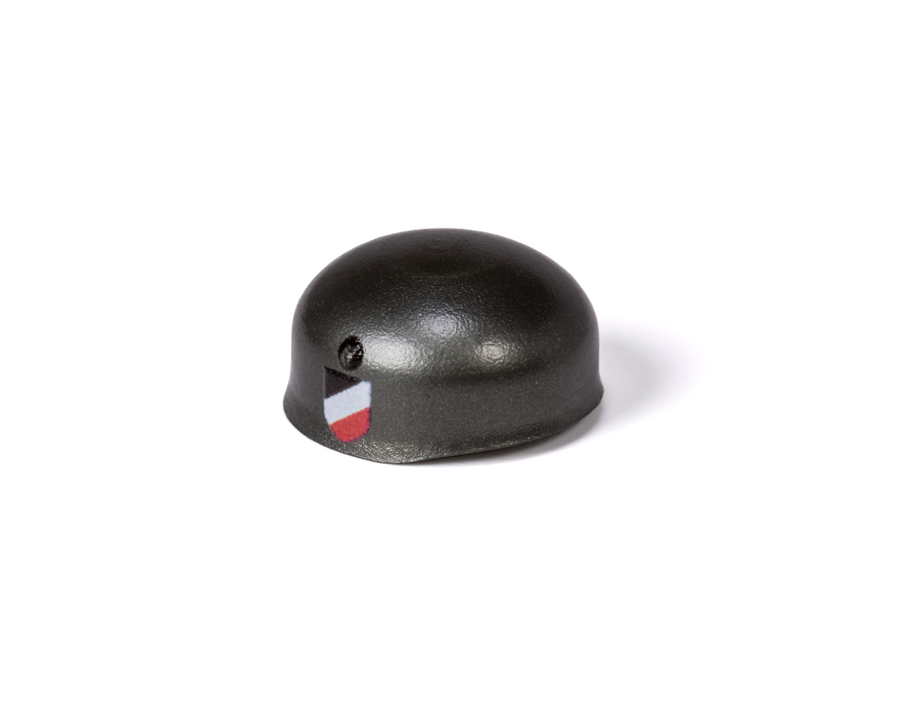 WWII BrickArms® Fallschirmjäger Helmet with Side Prints (Gunmetal)