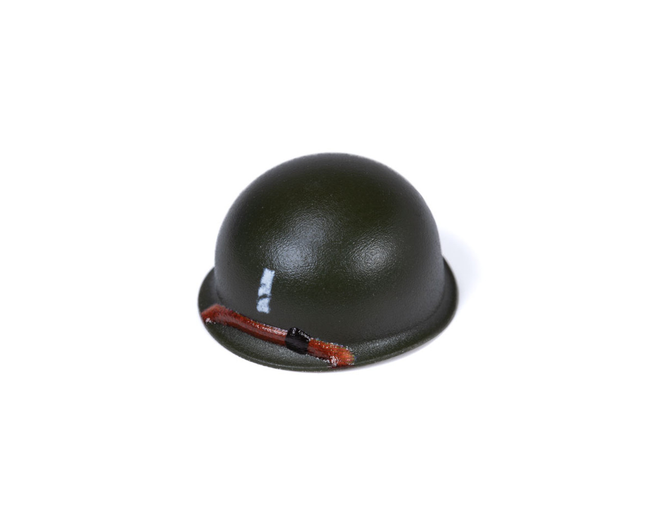 BrickArms® M1 Steel Pot Helmet - 1st Lieutenant Rank
