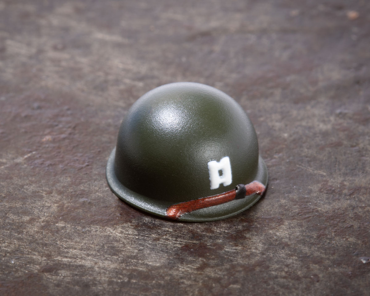 BrickArms® M1 Steel Pot Helmet - Captain Rank