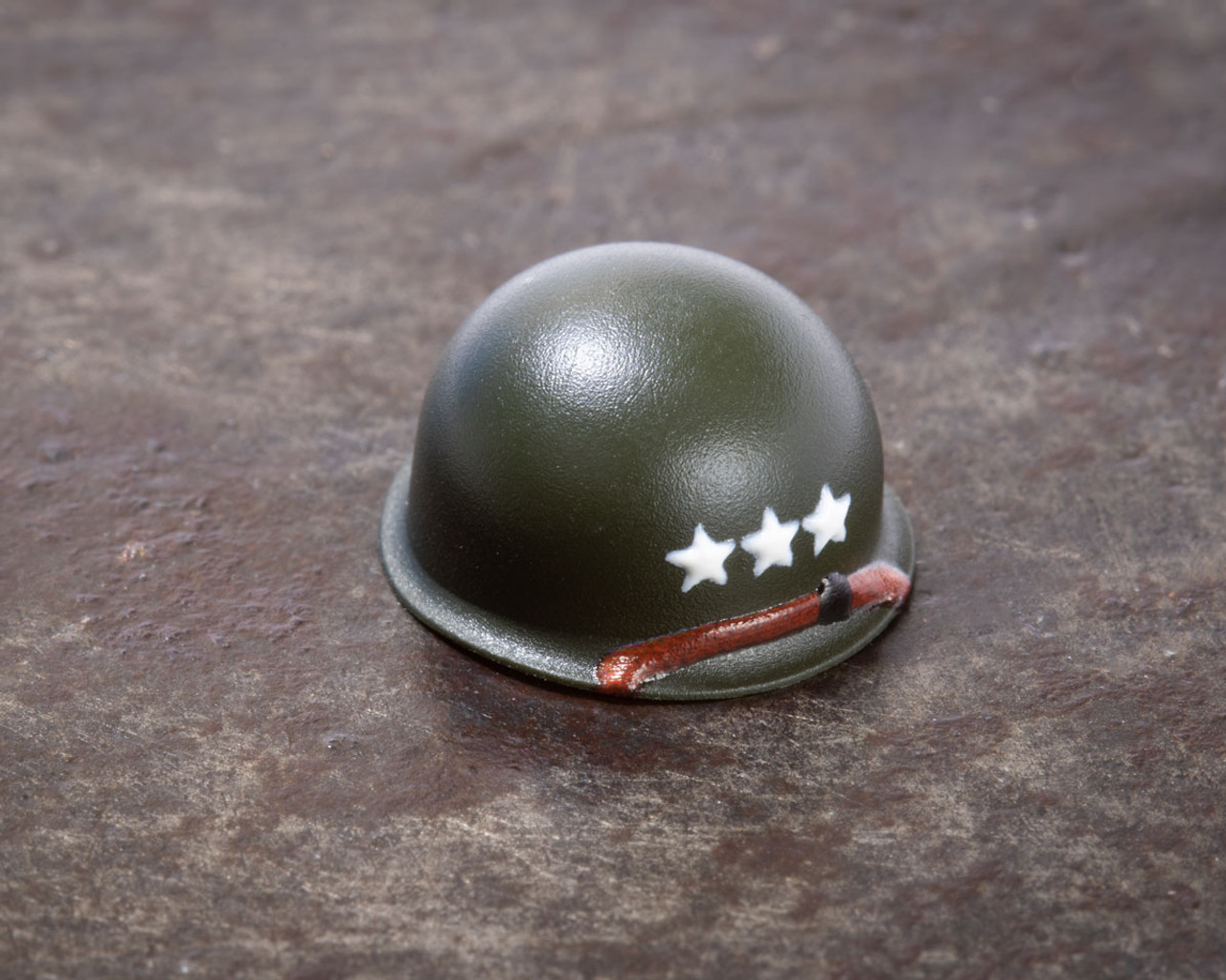 M1 Steel Pot Helmet - Lieutenant General Rank