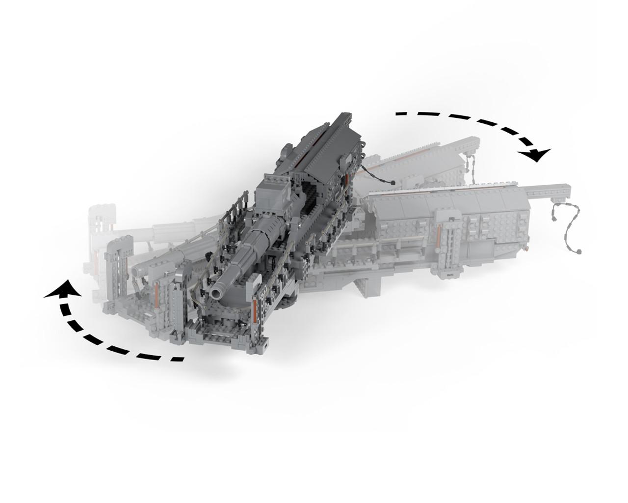 Bruno - 28 cm SK L/40 Railway Gun