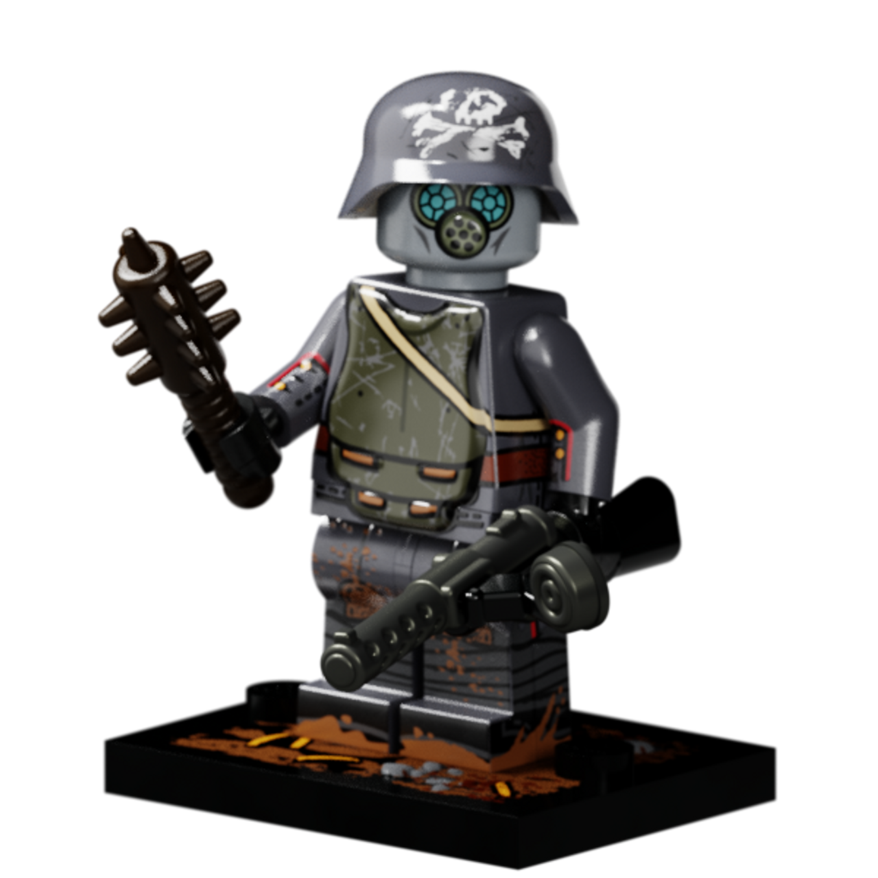 WWI German Stormtrooper
