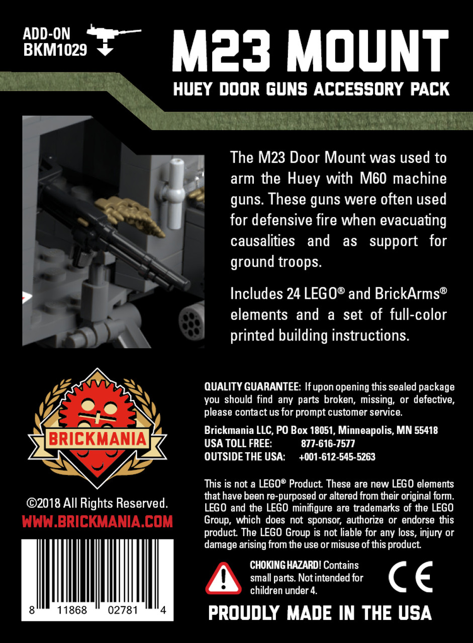 M23 Mount - Helicopter Door Guns Accessory Pack