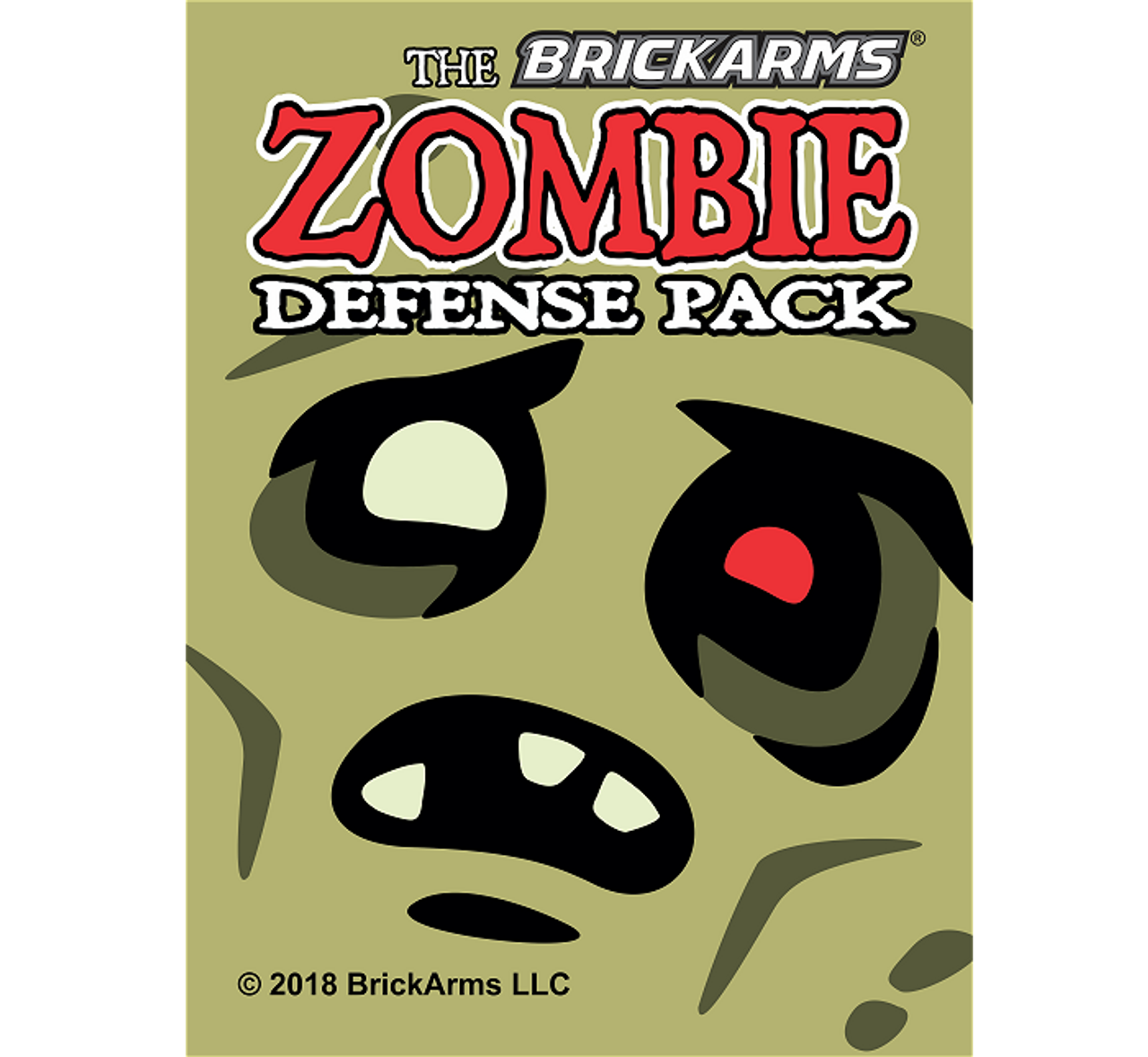 BrickArms® Zombie Defense Pack (2018)