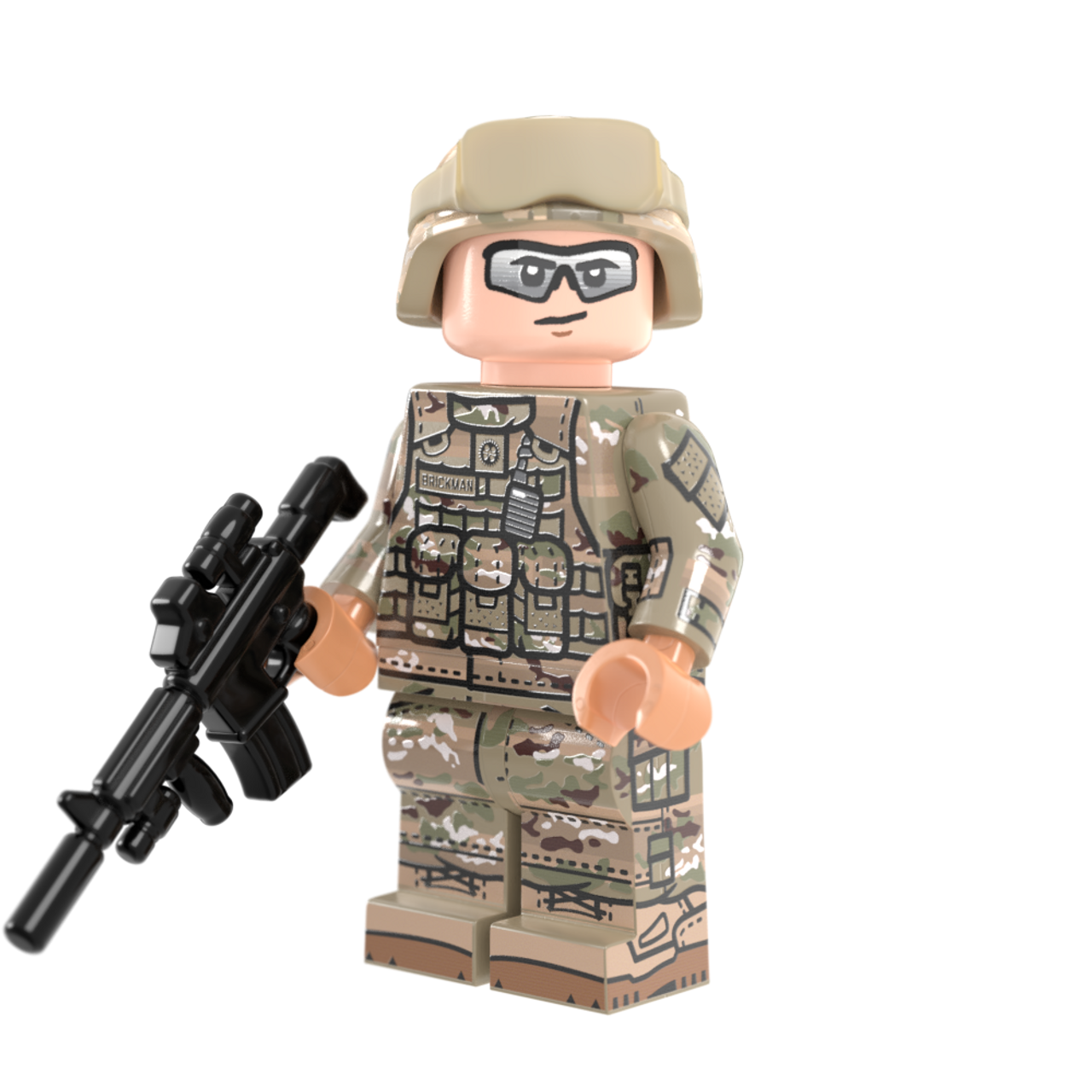 Modern US Army Rifleman
