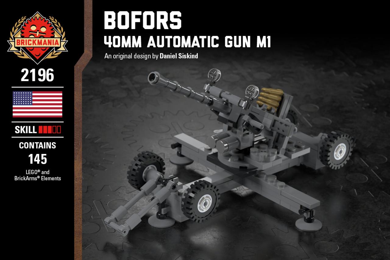 Lego WW2 Rifles And Guns 40 Pcs