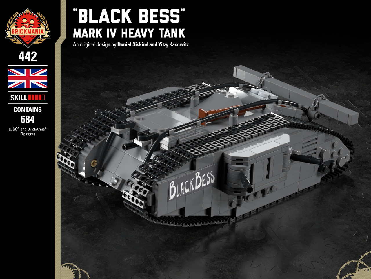 """Black Bess"" - Mark IV Heavy Tank"