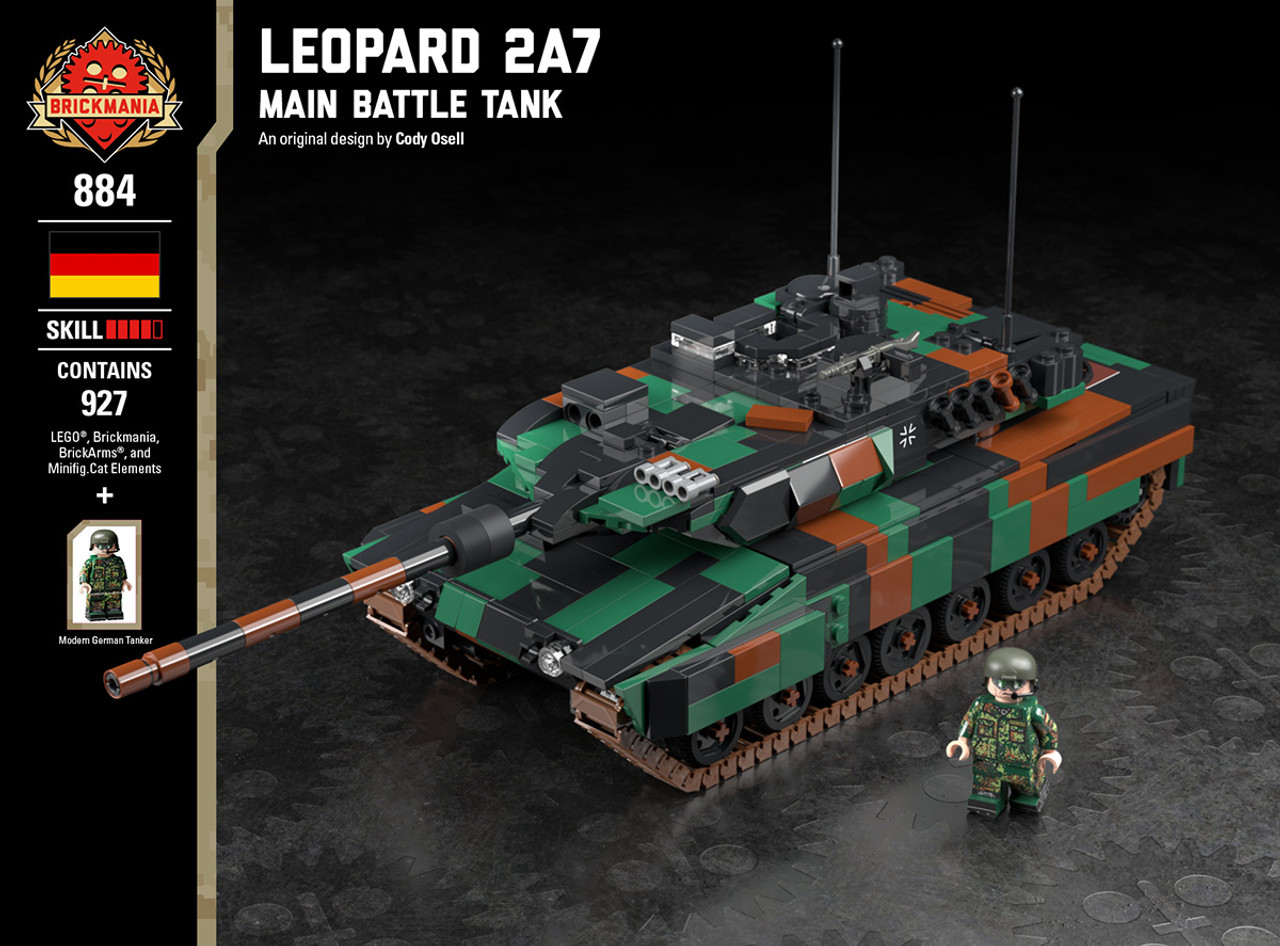 d2860aafc5d4 Shop by Brand. Brickmania · BrickArms · Minifig.Cat · View all Brands.  Previous. Leopard 2A7 - Main Battle Tank
