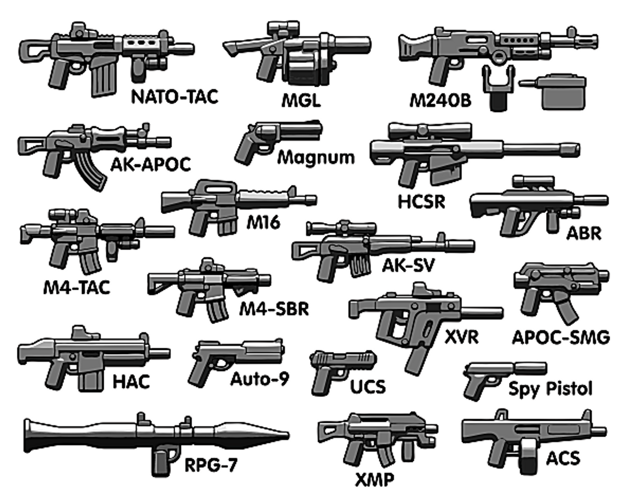 BrickArms Battle Royale Weapons Pack