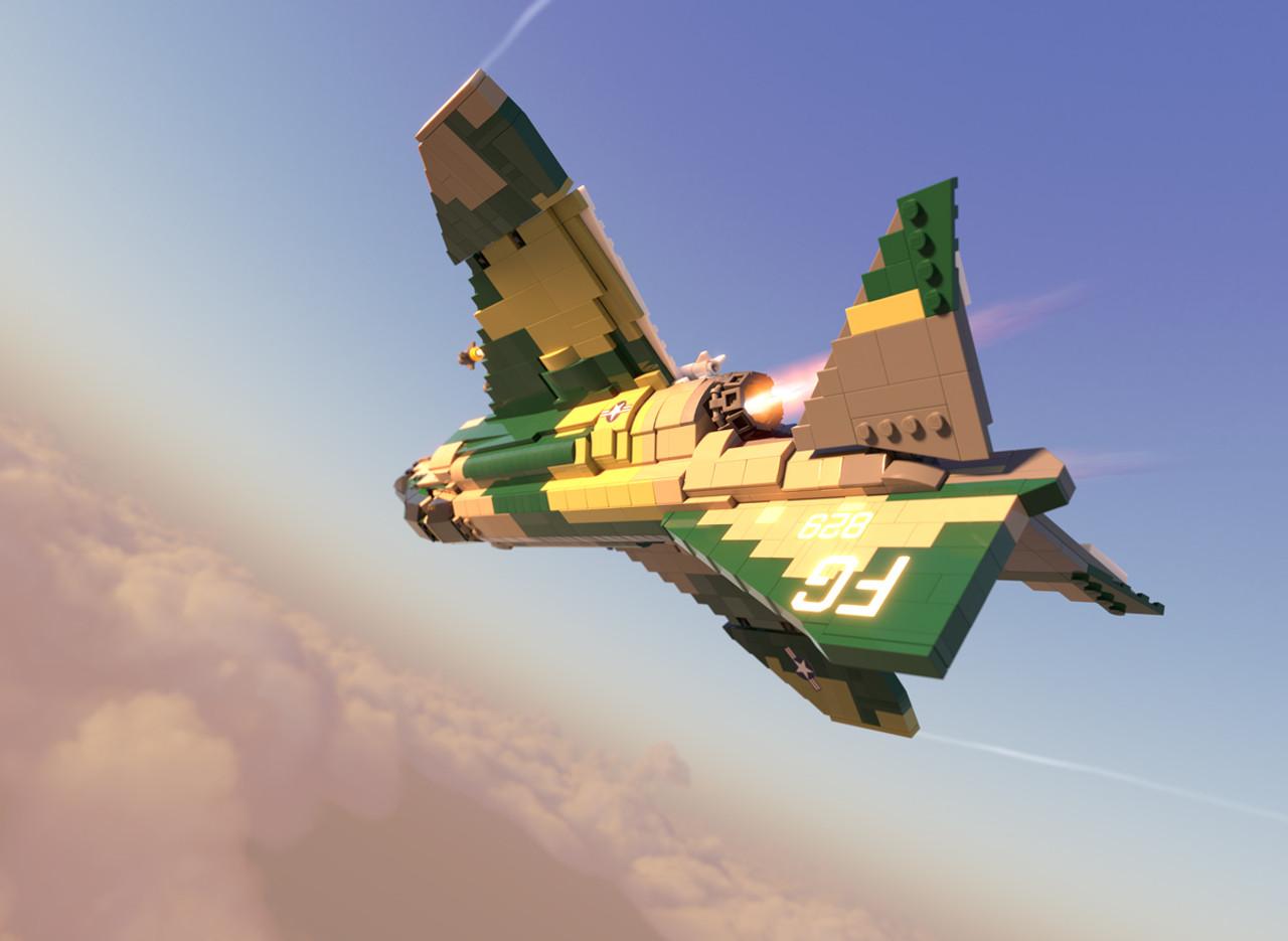 F-4C Phantom II - Supersonic Jet Interceptor