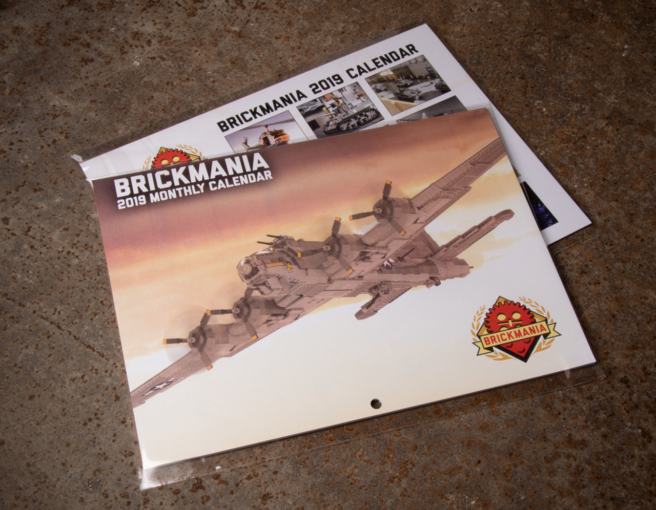 Brickmania 2019 Calendar