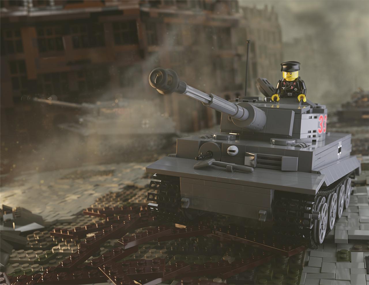 Tiger I Ausf E - German Heavy Tank