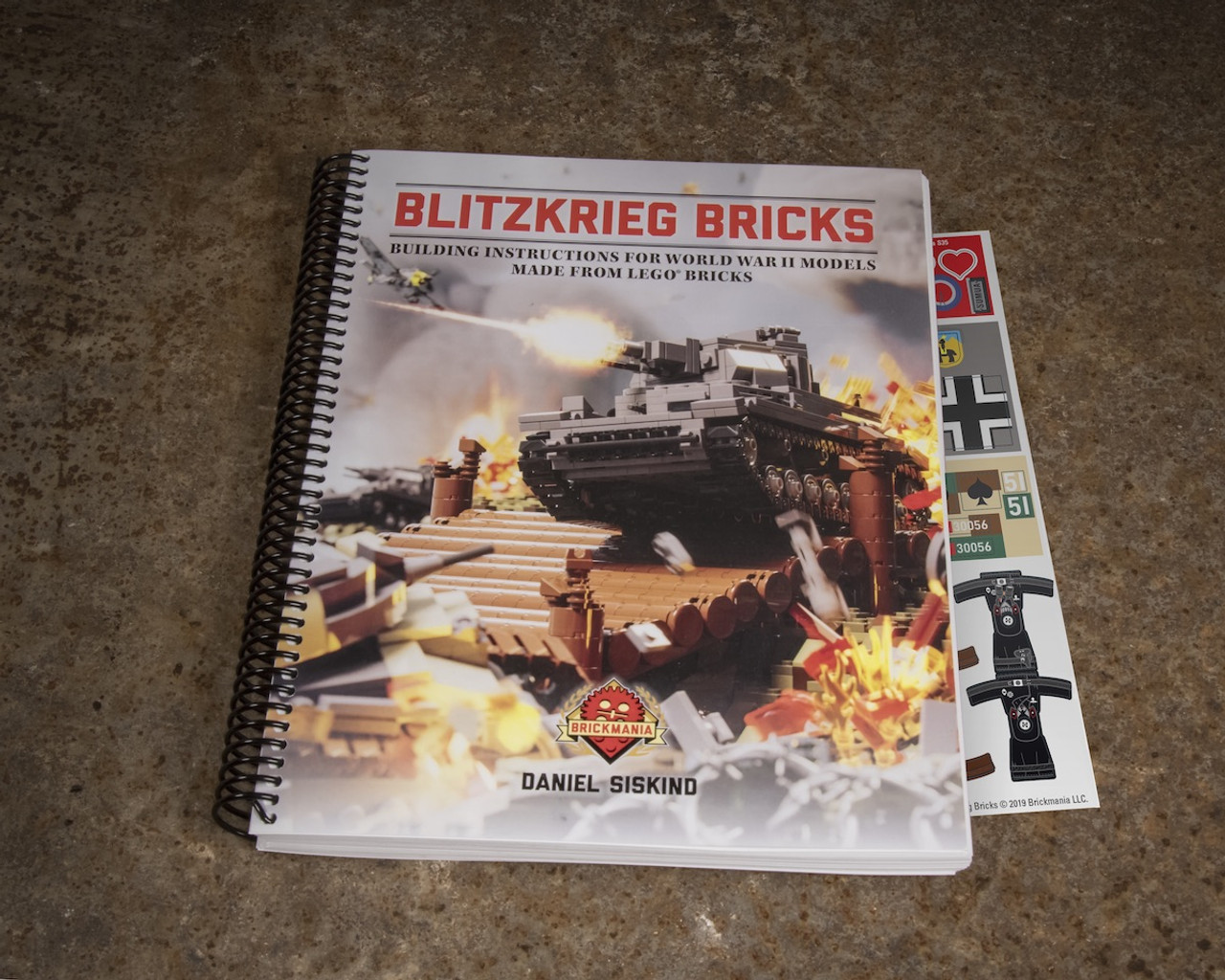 Blitzkrieg Bricks: Building Instructions for World War II Models Made From LEGO® Bricks