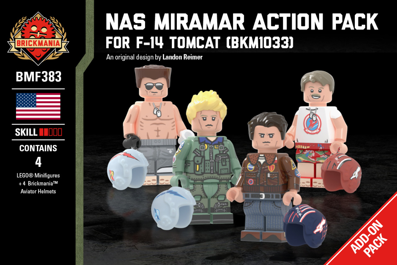 NAS Miramar Action Pack - For F-14 Tomcat (BKM 1033)