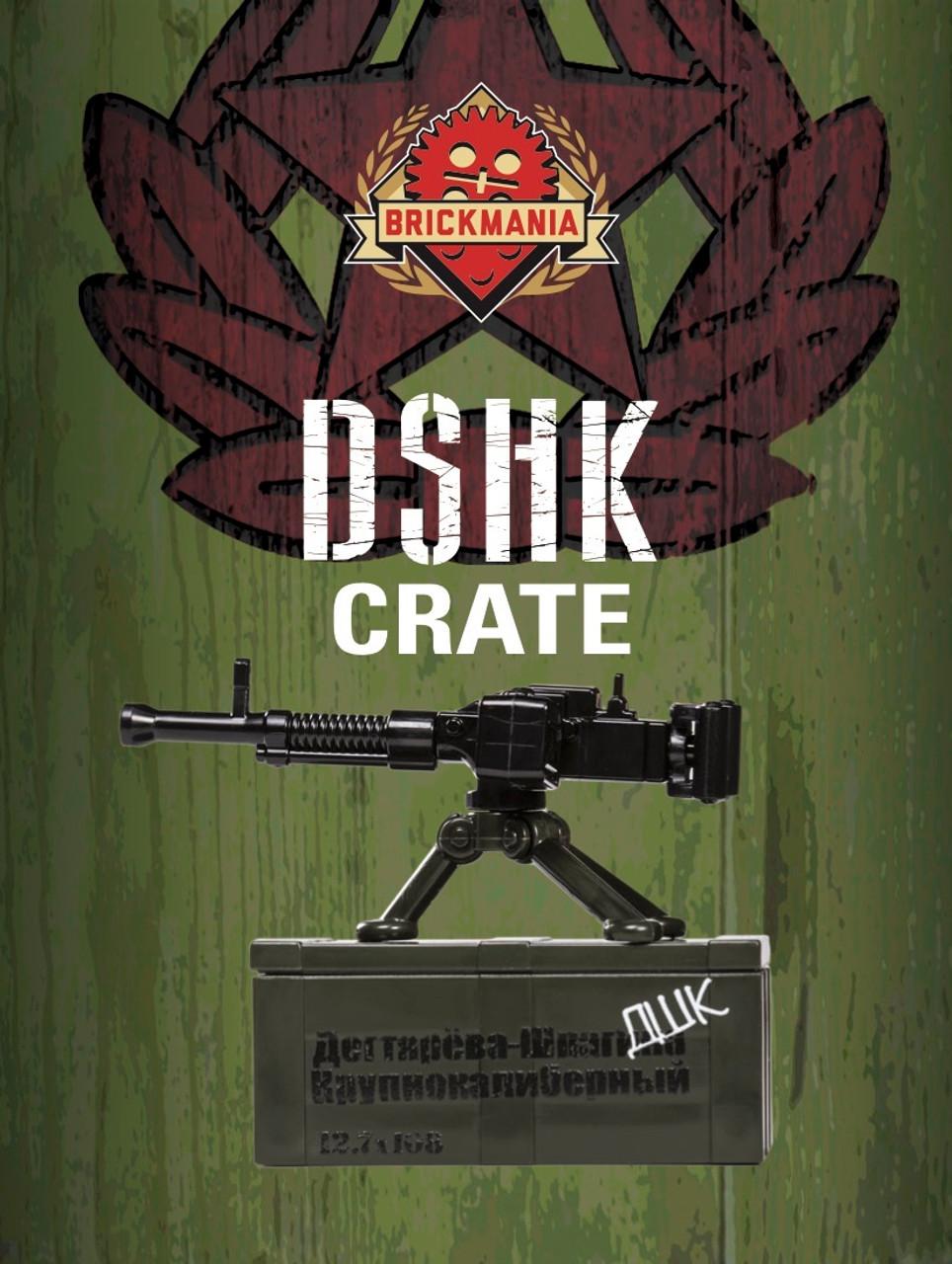 DShK Crate - Dark OD Green