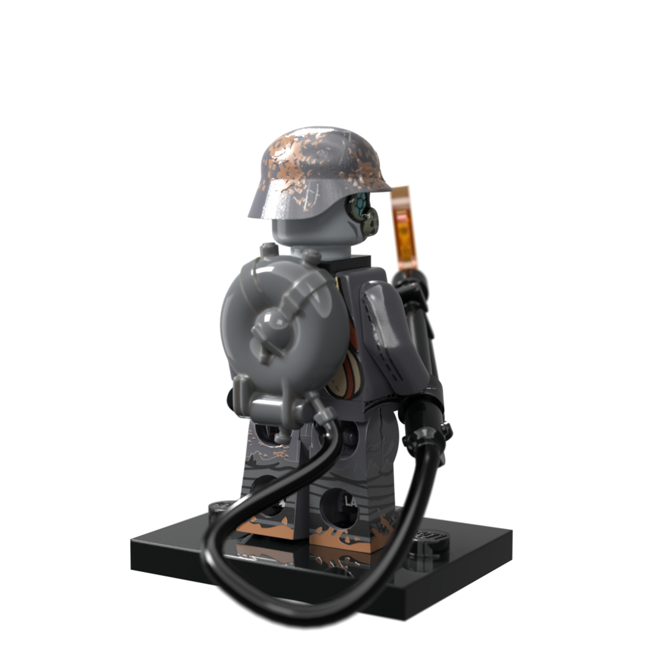 WWI German Flame Trooper