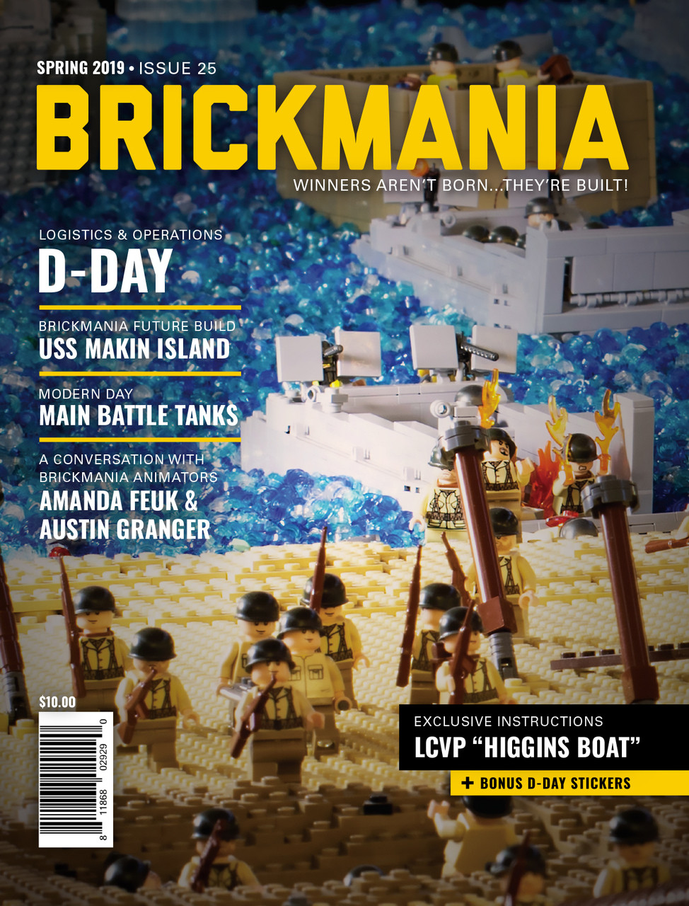 Brickmania Magazine Issue #25 Spring 2019