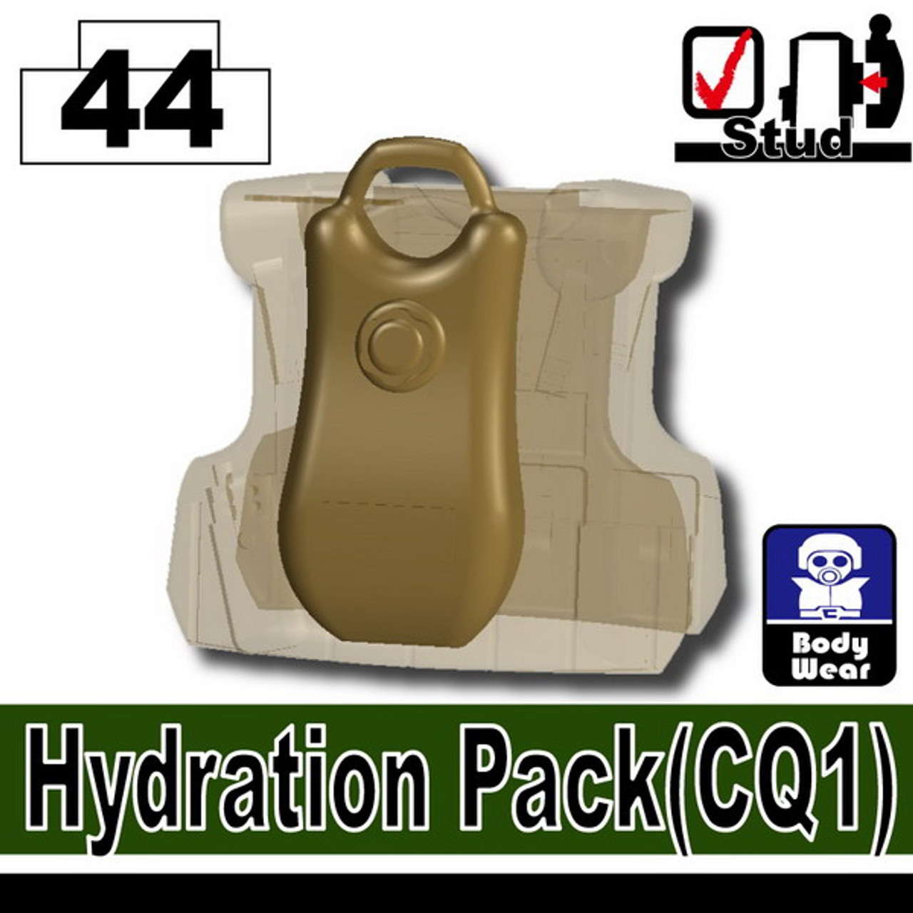 Minifig.Cat Hydration Pack (CQ1)