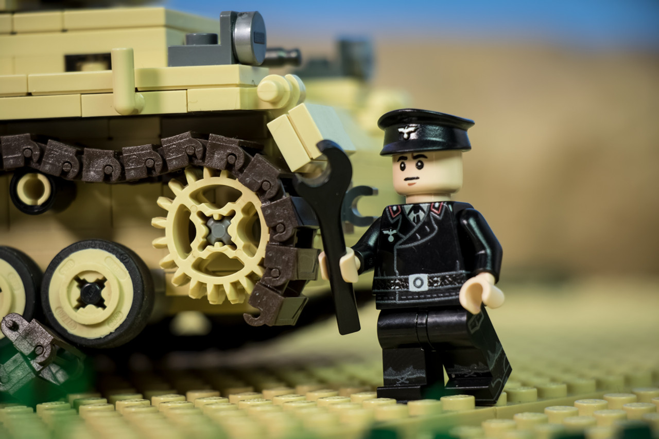 WWII Panzer Crewman