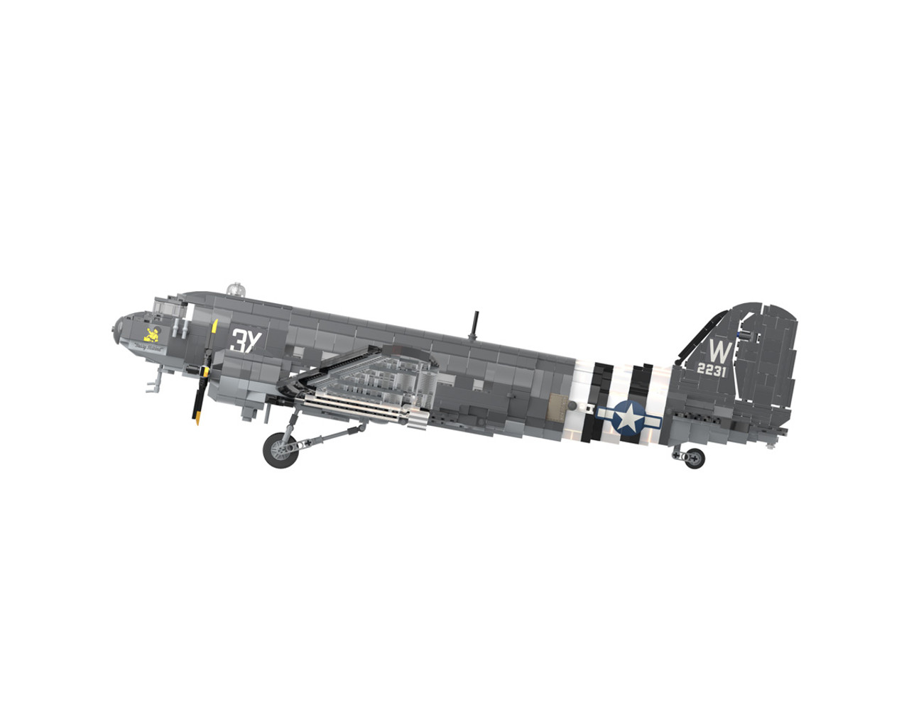 C-47 Skytrain - Military Transport Aircraft