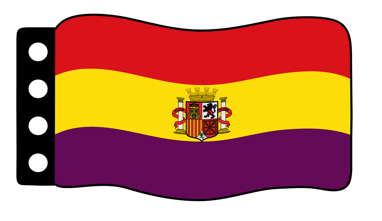 Flag - Spain Republic 1931-1939 Flag