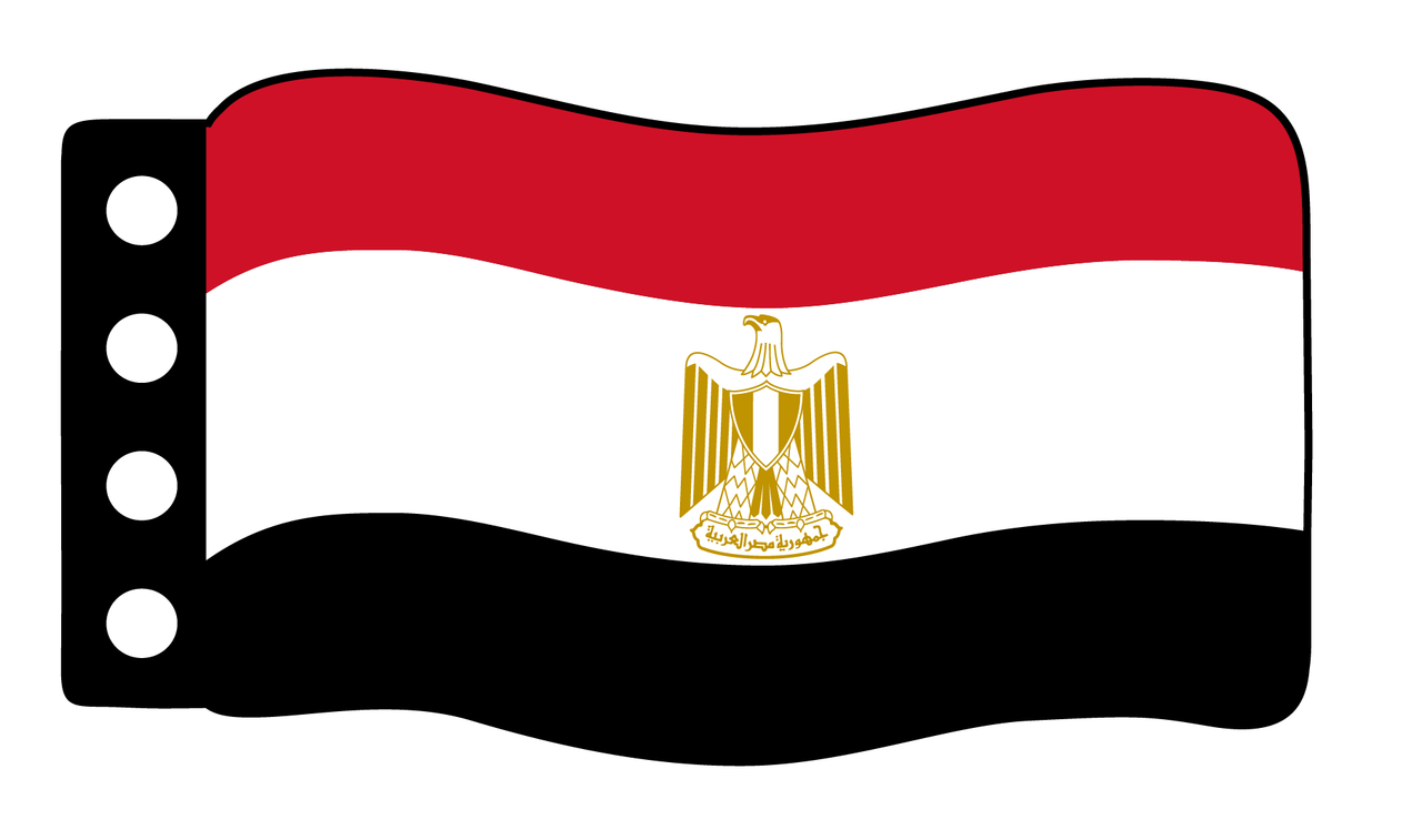 Flag - Egypt 1970 Flag