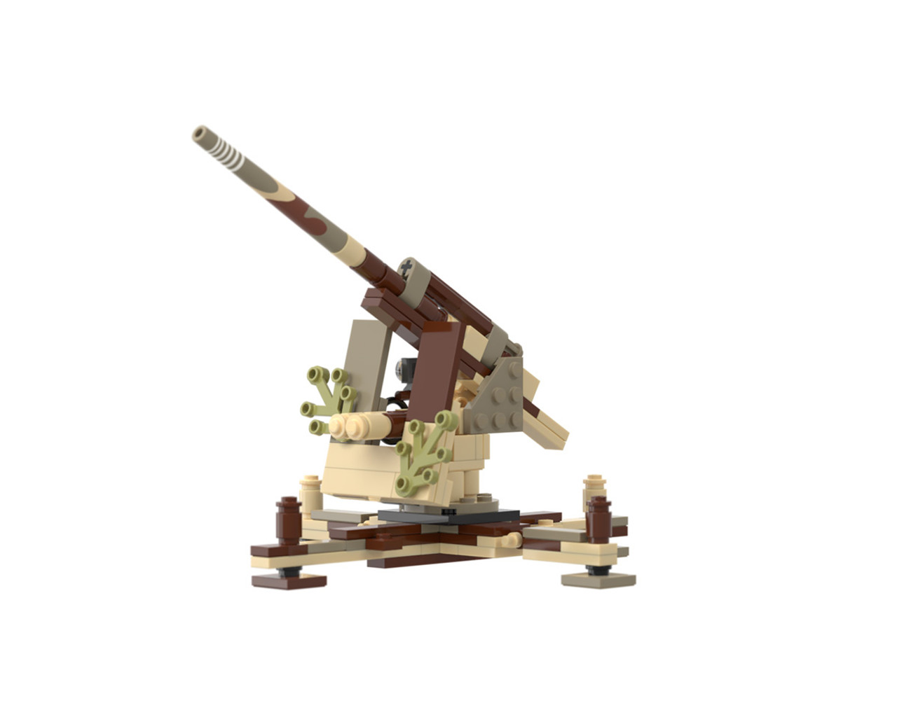 8.8cm Flak 36 - Anti-Aircraft Anti-Tank Gun
