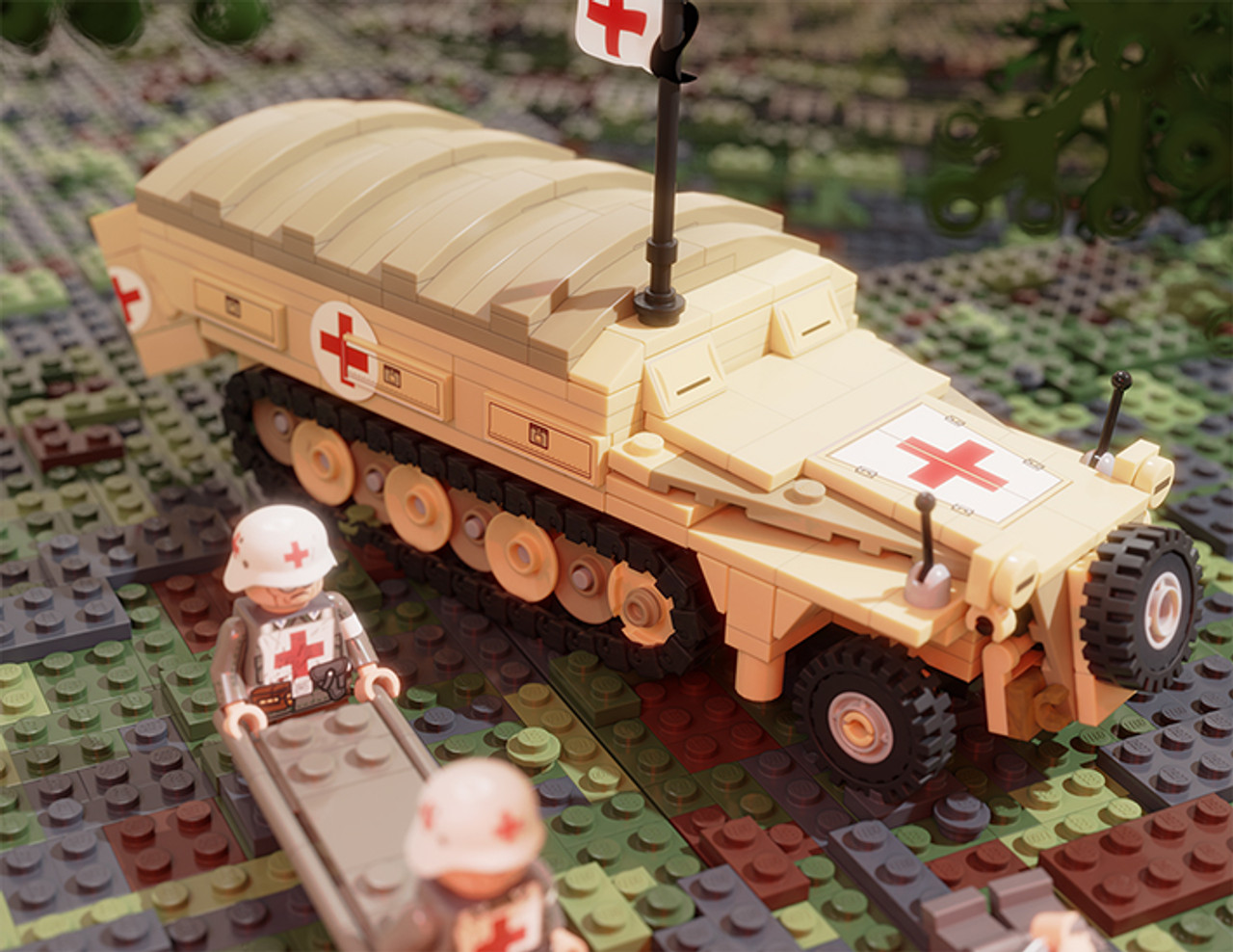Krankenpanzerwagen - Ambulance Pack for SdKfz 251 Ausf D (BKM2237)