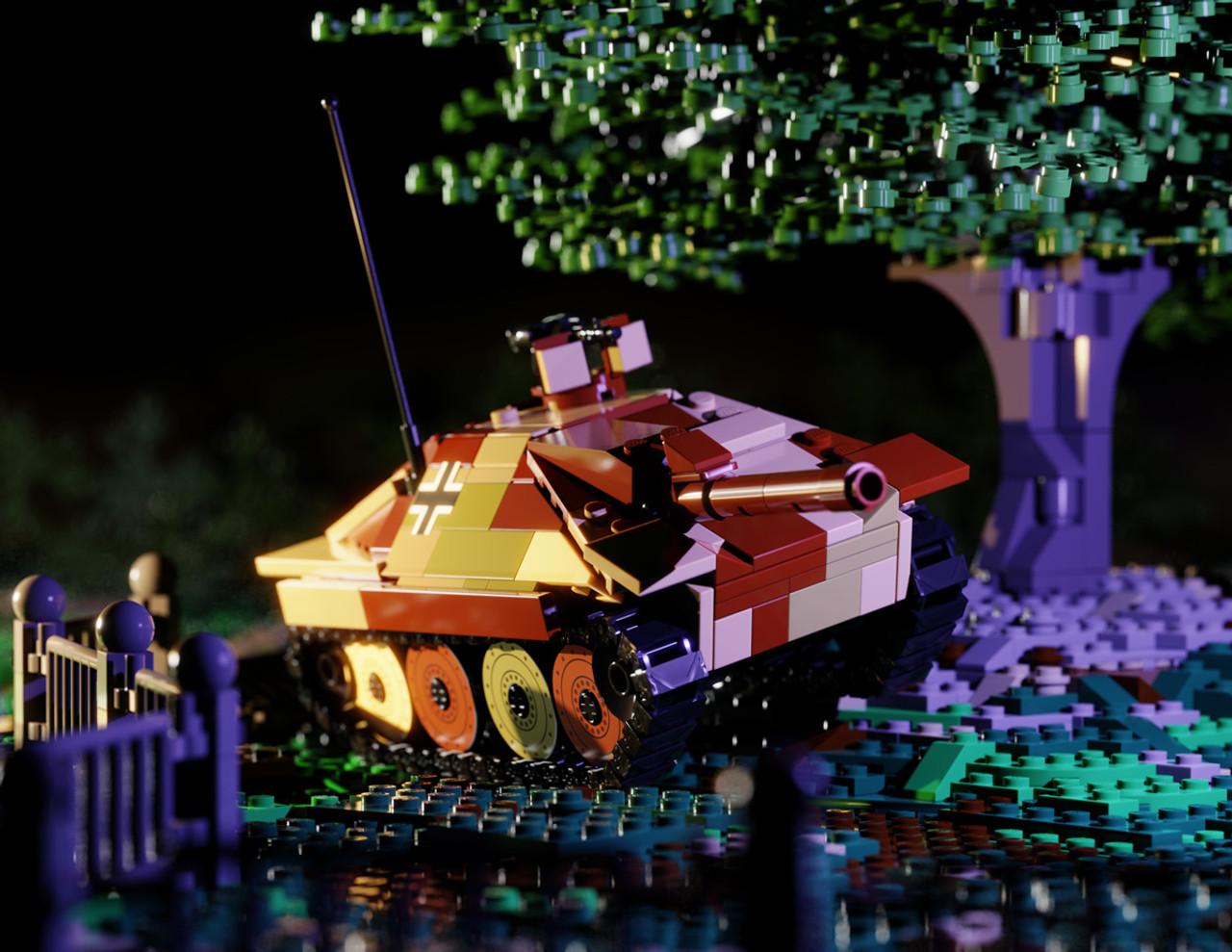 "Jagdpanzer 38 ""Hetzer"" - Light Tank Destroyer"