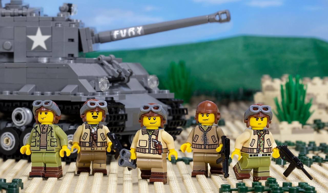 WWII US Army Tank Crewmen - Sticker Pack