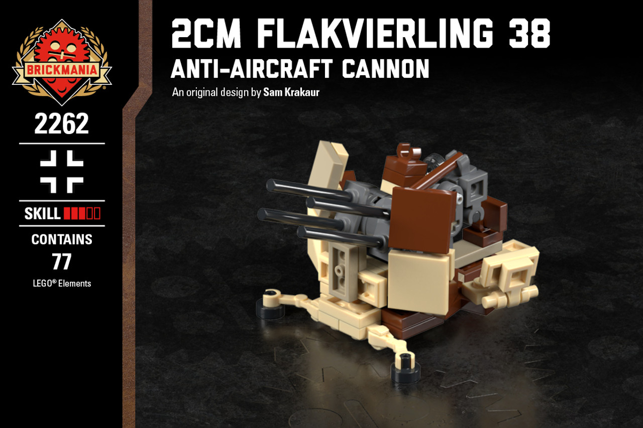2cm Flakvierling 38 - Anti-Aircraft Cannon